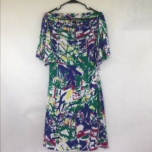 Tadashi Off-the-Shoulder Dress (Sz L)